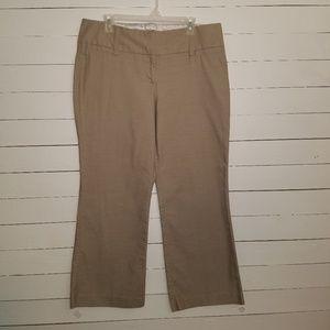 Maurice's tan pants, sz 13/14 s